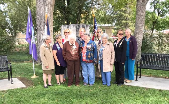 Fort Morgan DAR Memorial Park – Benches dedicated in Kate Baker Clatworthy DAR Memorial Park